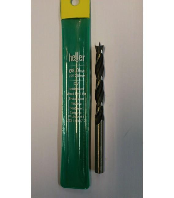 Puidupuur 8 mm Heller