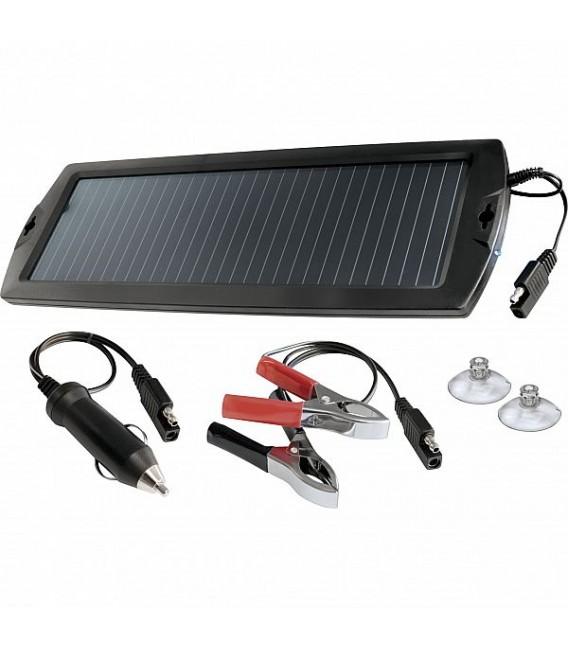 Päikesepaneeliga akulaadija 12V 1,5W