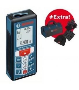 Laserkaugusmõõtja Bosch GLM 80 Professionaal + kingitus.
